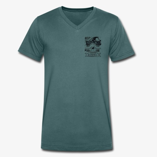 aeroplanesLE001 - T-shirt bio col V Stanley & Stella Homme
