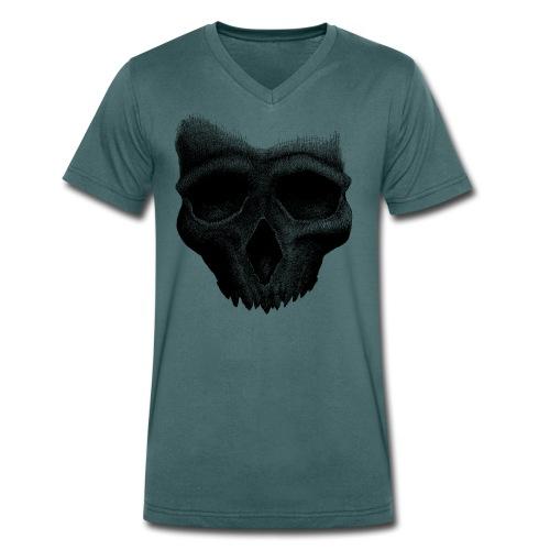 Simple Skull - T-shirt bio col V Stanley & Stella Homme