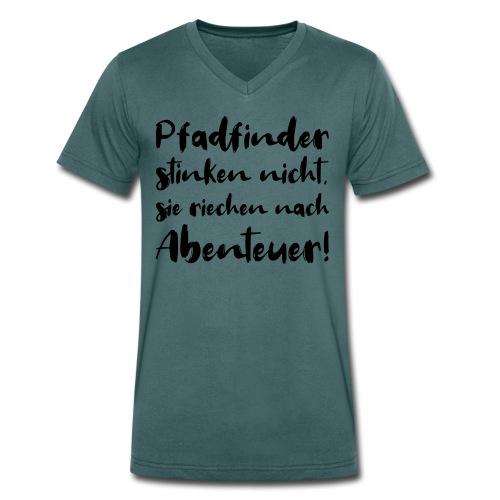 Pfadfinder stinken nicht … - Farbe frei wählbar - Männer Bio-T-Shirt mit V-Ausschnitt von Stanley & Stella