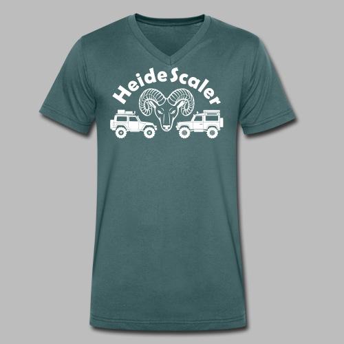 Heide Scaler (freie Farbwahl) - Männer Bio-T-Shirt mit V-Ausschnitt von Stanley & Stella