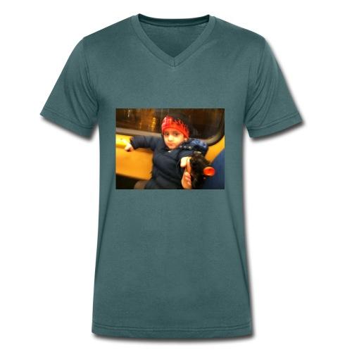 Rojbin gesbin - Ekologisk T-shirt med V-ringning herr från Stanley & Stella