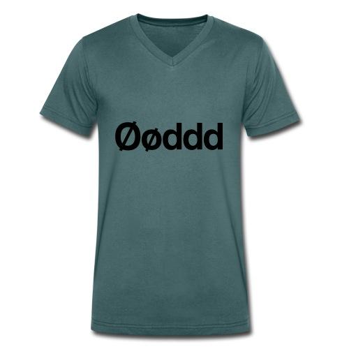 Øøddd (sort skrift) - Økologisk Stanley & Stella T-shirt med V-udskæring til herrer