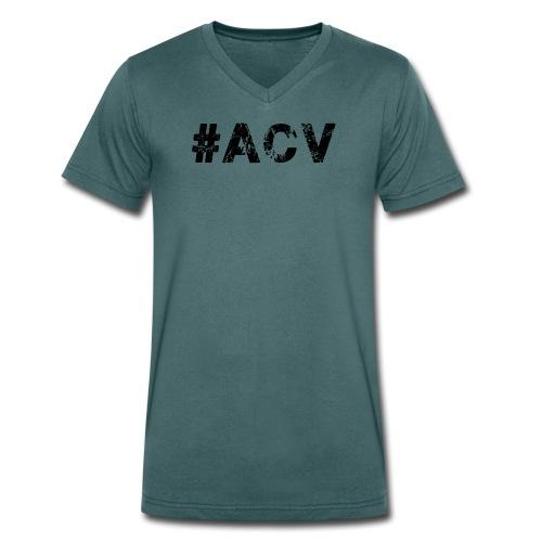 #ACV Logo - Männer Bio-T-Shirt mit V-Ausschnitt von Stanley & Stella