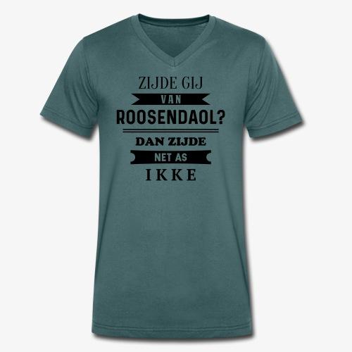 Zijde gij van Roosendaol? - Mannen bio T-shirt met V-hals van Stanley & Stella