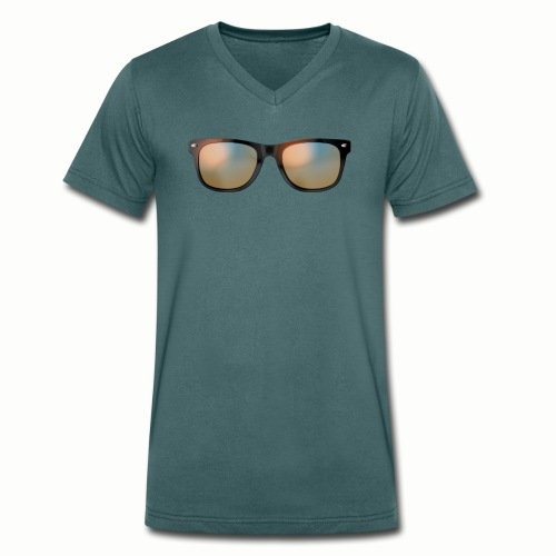 sommer - Männer Bio-T-Shirt mit V-Ausschnitt von Stanley & Stella
