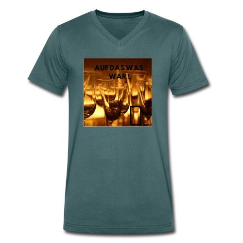 Auf das was war ! - Männer Bio-T-Shirt mit V-Ausschnitt von Stanley & Stella