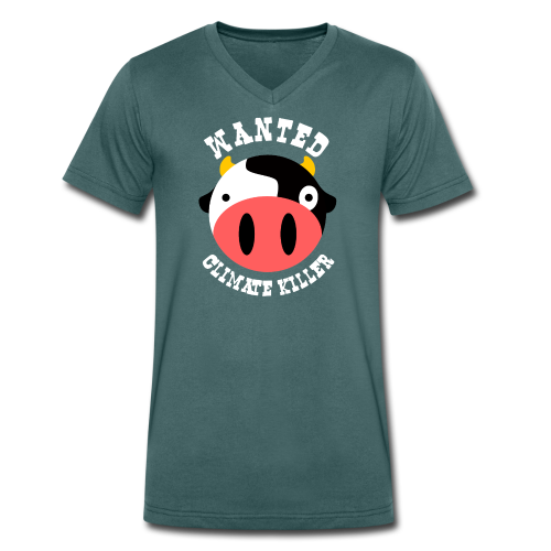 Wanted vache - T-shirt bio col V Stanley & Stella Homme