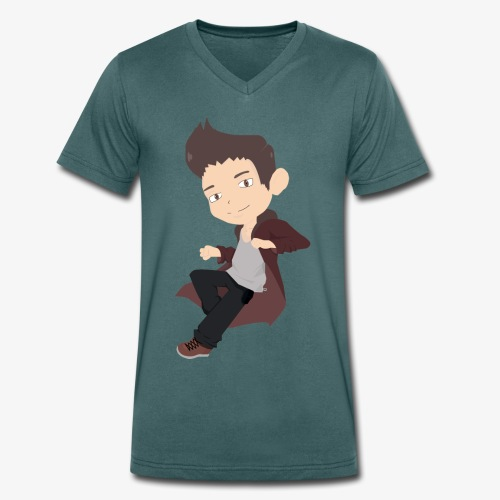 Basique - T-shirt bio col V Stanley & Stella Homme
