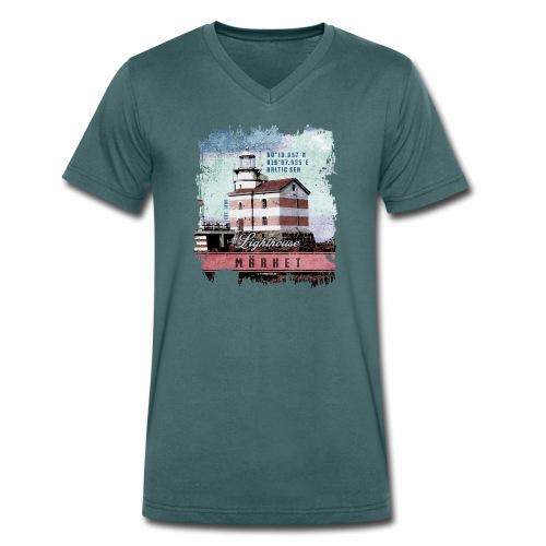 Märket majakkatuotteet, Finland Lighthouse, väri - Stanley & Stellan naisten luomupikeepaita