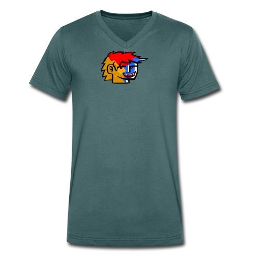 Frizo Evil T-shirt - Økologisk Stanley & Stella T-shirt med V-udskæring til herrer