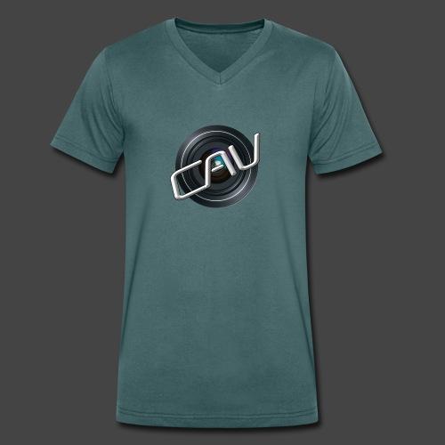 CAV-Logo - Männer Bio-T-Shirt mit V-Ausschnitt von Stanley & Stella