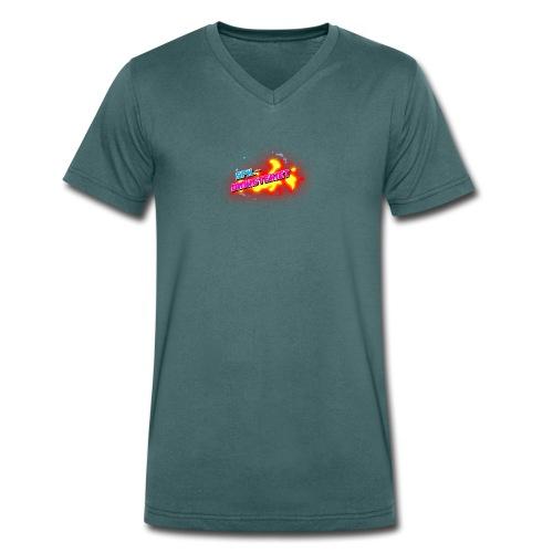 Spilministeriet - Økologisk Stanley & Stella T-shirt med V-udskæring til herrer