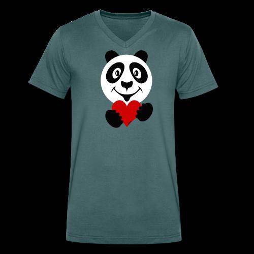 FP10-51A PANDA HEART Tekstiles and Gift products - Stanley & Stellan naisten luomupikeepaita