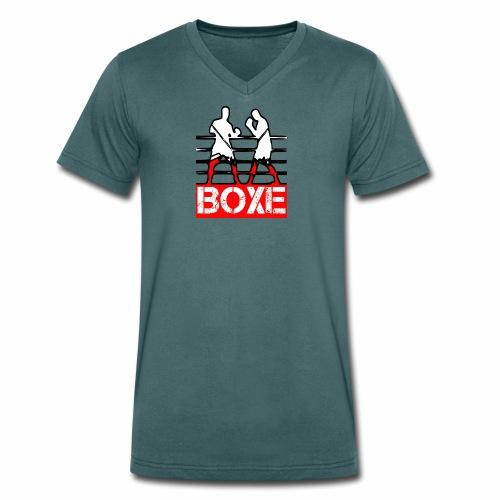 BOXE - T-shirt ecologica da uomo con scollo a V di Stanley & Stella