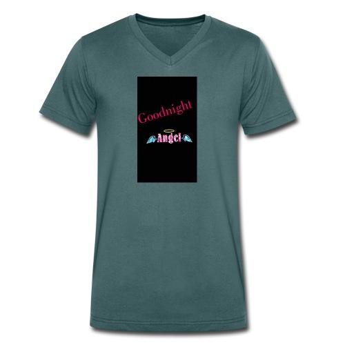 goodnight Angel Snapchat - Men's Organic V-Neck T-Shirt by Stanley & Stella