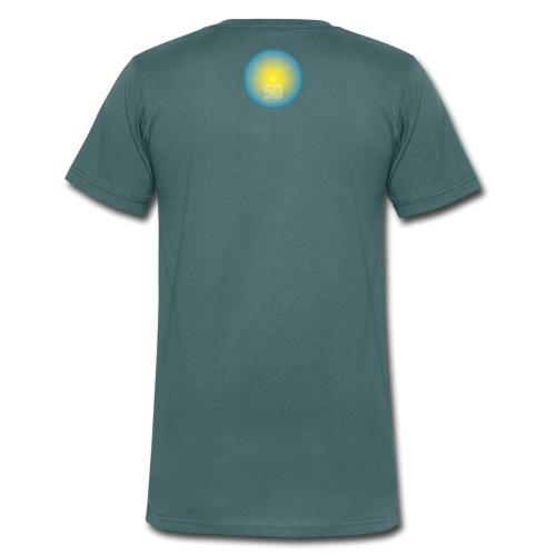 5D Sonnenklang - Männer Bio-T-Shirt mit V-Ausschnitt von Stanley & Stella