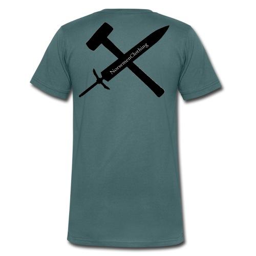 SwordSledgehammer - Ekologisk T-shirt med V-ringning herr från Stanley & Stella