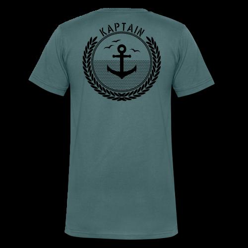 Kaptain - Anchor - Männer Bio-T-Shirt mit V-Ausschnitt von Stanley & Stella