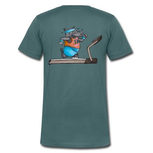 3B6D5887 BE99 4F1B AFA4 C04D9B91080F - Männer Bio-T-Shirt mit V-Ausschnitt von Stanley & Stella