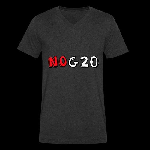 NOG20 - Männer Bio-T-Shirt mit V-Ausschnitt von Stanley & Stella