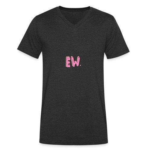 Eww - Økologisk T-skjorte med V-hals for menn fra Stanley & Stella
