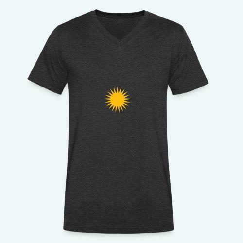 PARMA SUN - Økologisk Stanley & Stella T-shirt med V-udskæring til herrer