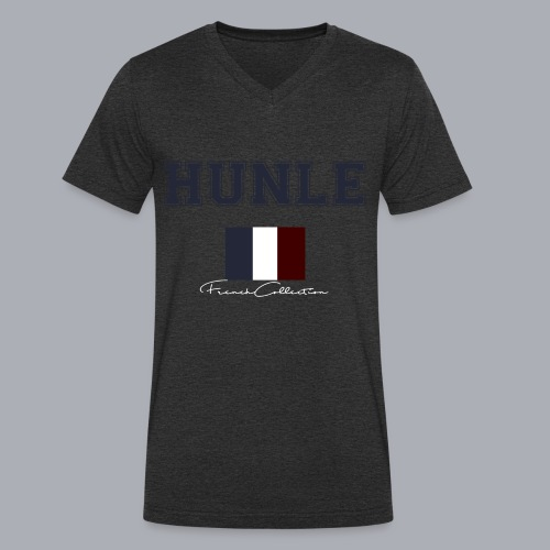 hunle French Collection n°1 - T-shirt bio col V Stanley & Stella Homme