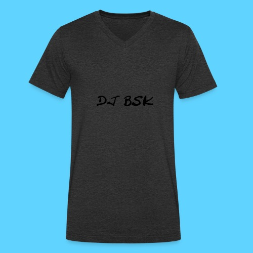 Collection DJ BSK - T-shirt bio col V Stanley & Stella Homme