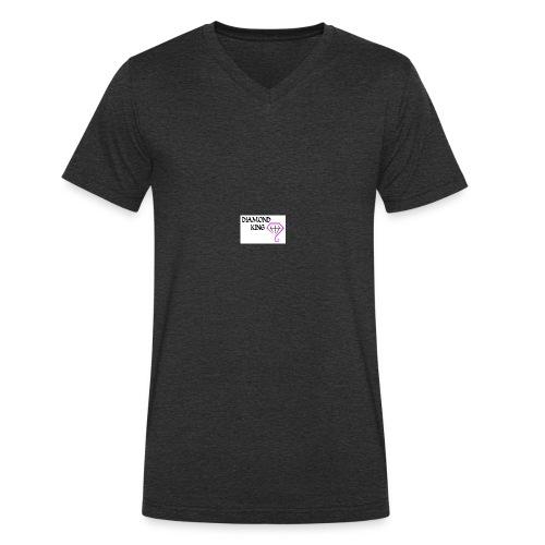 onlinelogomaker 110217 2058 1449 - Ekologiczna koszulka męska z dekoltem w serek Stanley & Stella