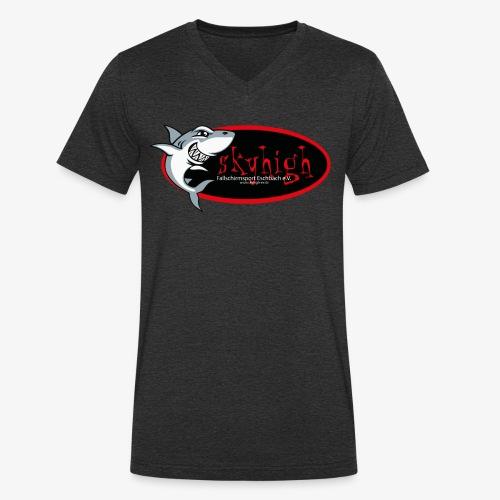 Skyhai - Männer Bio-T-Shirt mit V-Ausschnitt von Stanley & Stella