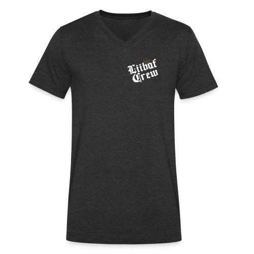 Liibaf-Logo - Männer Bio-T-Shirt mit V-Ausschnitt von Stanley & Stella