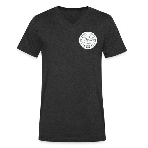 bullshit quality brand - Männer Bio-T-Shirt mit V-Ausschnitt von Stanley & Stella