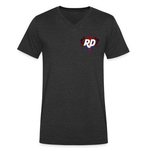 rd - Männer Bio-T-Shirt mit V-Ausschnitt von Stanley & Stella
