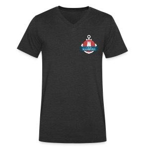 Made in Hamburg - invert - Männer Bio-T-Shirt mit V-Ausschnitt von Stanley & Stella