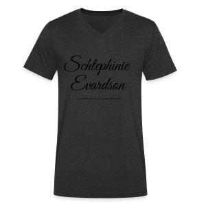 Schtephinie Evardson Lisp Awareness - Men's Organic V-Neck T-Shirt by Stanley & Stella