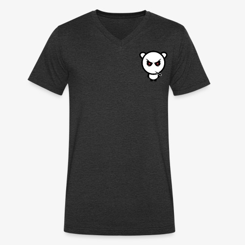 Merchandise with MiN0R Logo. - Økologisk T-skjorte med V-hals for menn fra Stanley & Stella