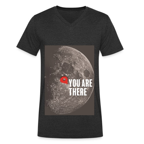 Dans la lune - T-shirt bio col V Stanley & Stella Homme