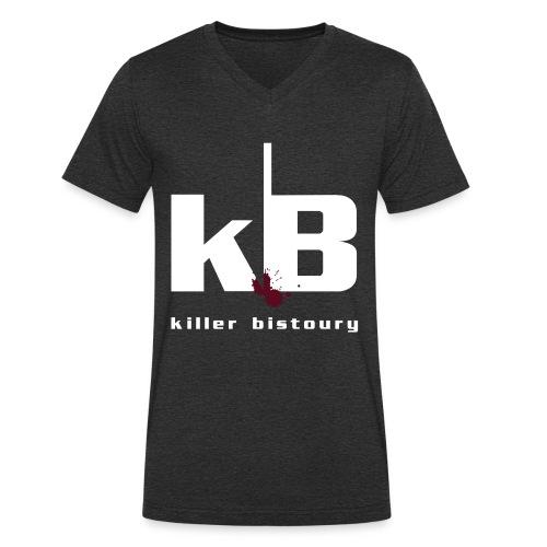 killer bistoury black - T-shirt ecologica da uomo con scollo a V di Stanley & Stella