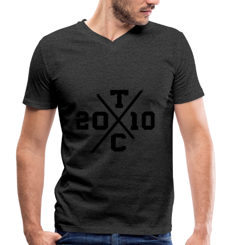 TXC 2010 BLACK - Men's Organic V-Neck T-Shirt by Stanley & Stella