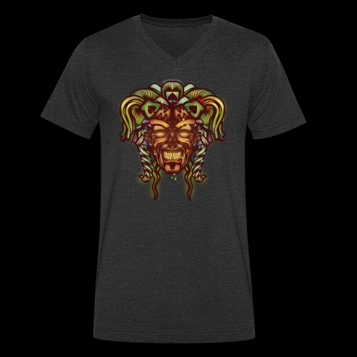 Joker démoniaque - T-shirt bio col V Stanley & Stella Homme