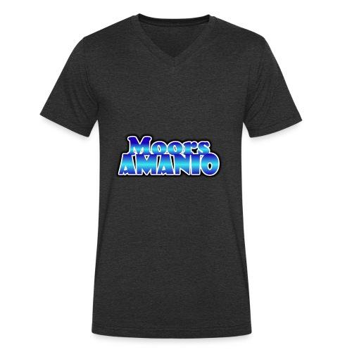 MoorsAmanioLogo - Mannen bio T-shirt met V-hals van Stanley & Stella