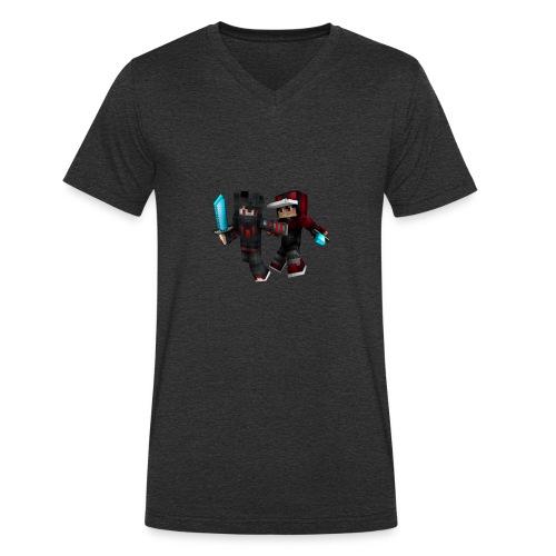 2 Sexy Typen - Männer Bio-T-Shirt mit V-Ausschnitt von Stanley & Stella