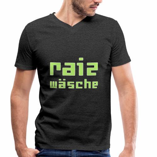 raizwaesche - Männer Bio-T-Shirt mit V-Ausschnitt von Stanley & Stella