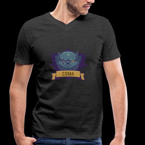 logo coma - T-shirt bio col V Stanley & Stella Homme