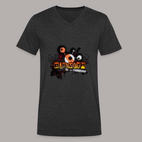 Logo_tranzparent_gro--_-1- - Männer Bio-T-Shirt mit V-Ausschnitt von Stanley & Stella