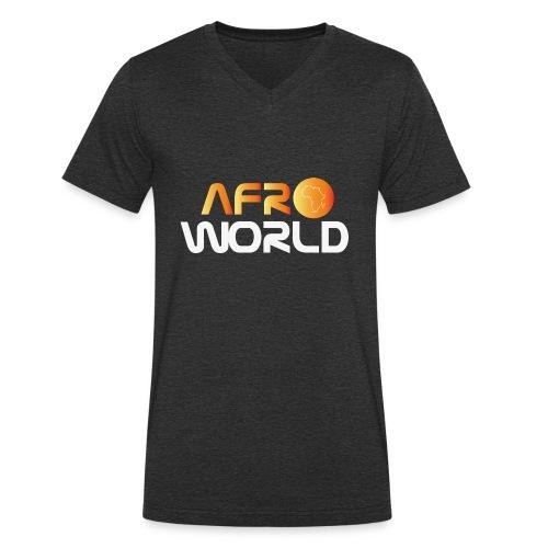 afro world - T-shirt bio col V Stanley & Stella Homme