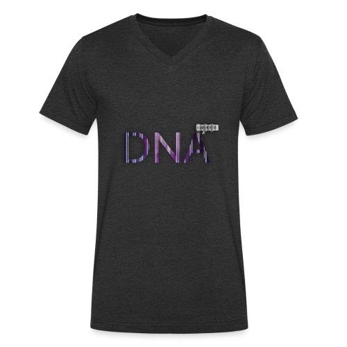 BTS DNA - Men's Organic V-Neck T-Shirt by Stanley & Stella