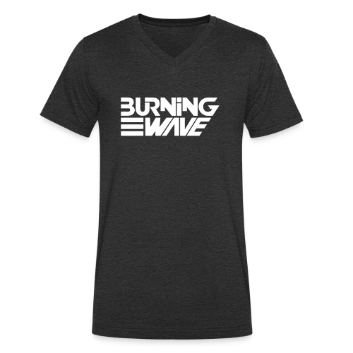Burning Wave Block - T-shirt bio col V Stanley & Stella Homme
