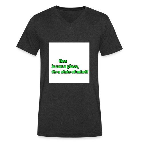 Goa is not a place - Männer Bio-T-Shirt mit V-Ausschnitt von Stanley & Stella