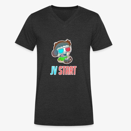 JVSTART Logo principal - T-shirt bio col V Stanley & Stella Homme